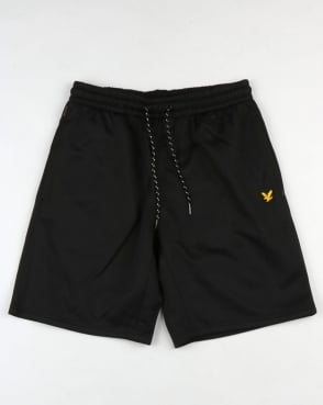 Lyle And Scott Fitness Charlton Fleece Shorts Black