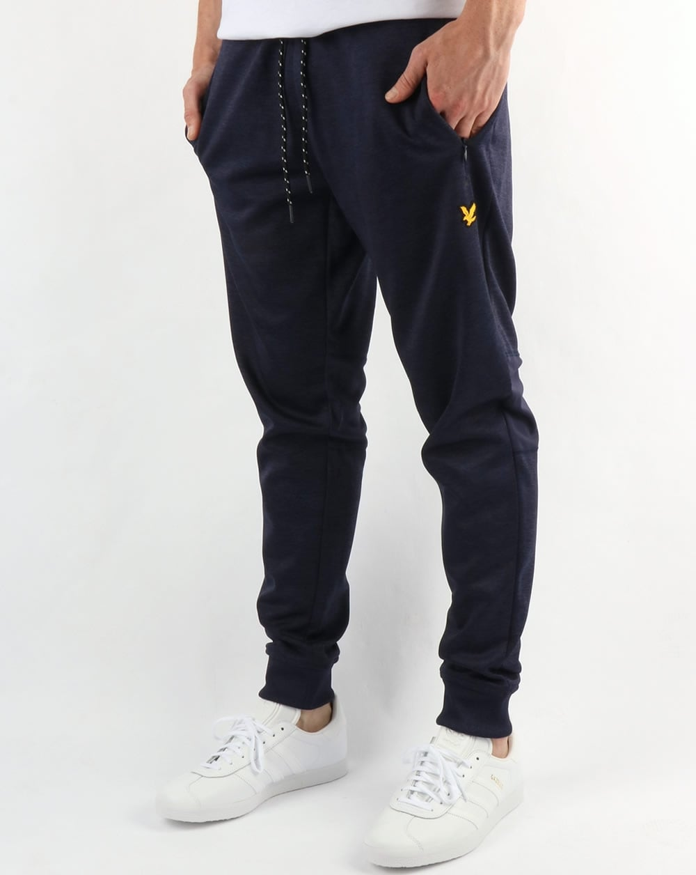 6fdbc453 Lyle and Scott Lyle And Scott Fitness Greene Slim Fit Track Pants Navy