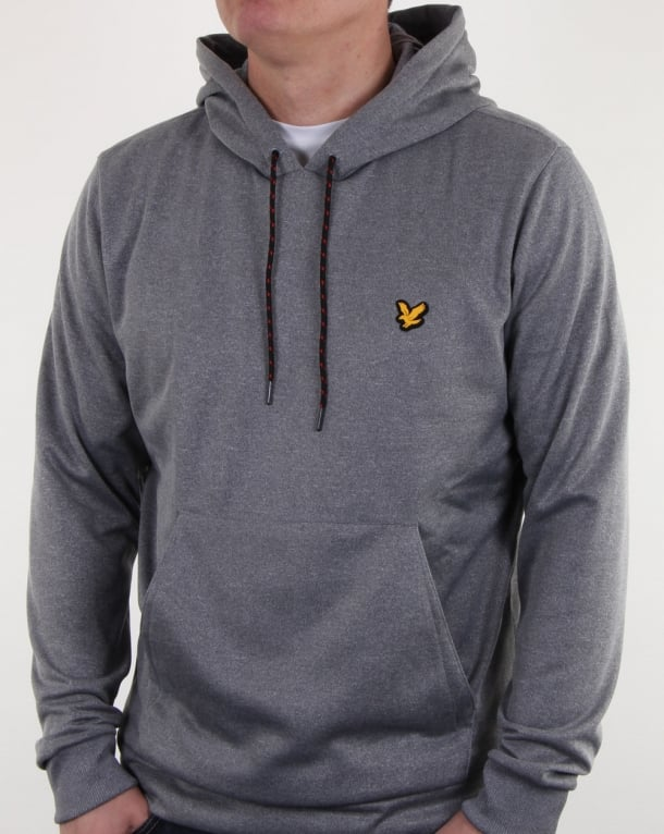 Lyle And Scott Fitness Haston Oth Top Mid Grey Marl