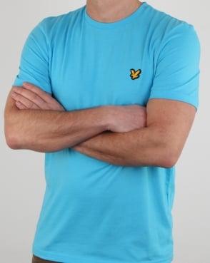 Lyle And Scott Fitness Martin T Shirt Crisp Blue