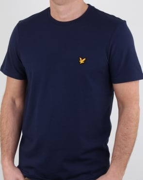 Lyle And Scott Fitness Martin T Shirt Navy