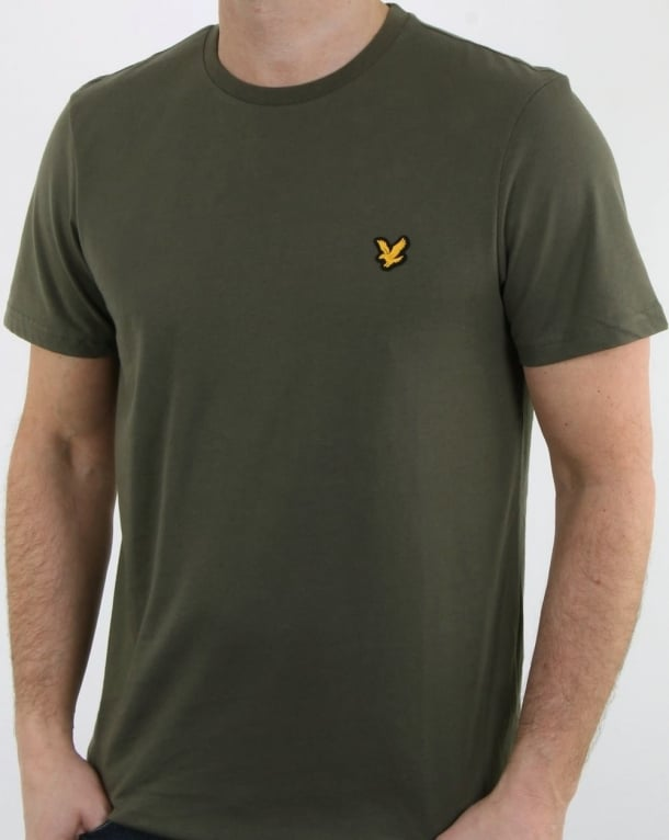 Lyle And Scott Fitness Martin T Shirt Olive
