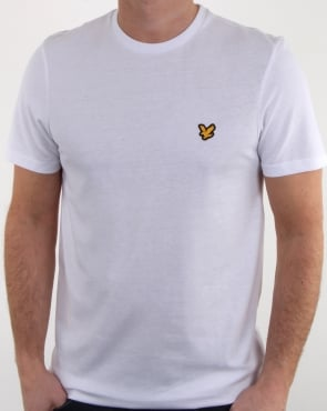 Lyle And Scott Fitness Martin T Shirt White