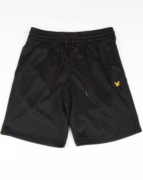 Lyle And Scott Fitness Randall Fleece Shorts True Black Marl