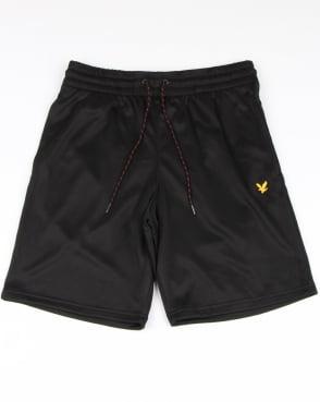 Lyle And Scott Fitness Randall Fleece Shorts True Black Marl