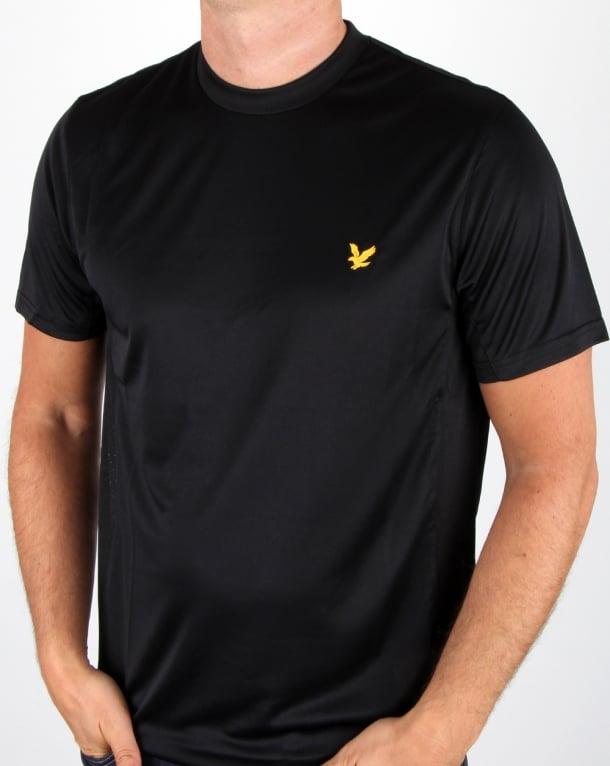 Lyle And Scott Fitness T Shirt Black