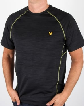 Lyle And Scott Fitness Training T Shirt True Black