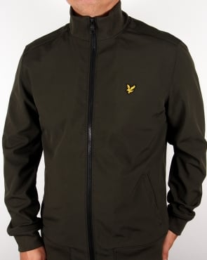 Lyle And Scott Funnel Neck Jacket Dark Sage