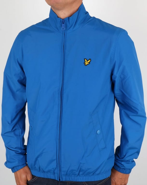 Lyle And Scott Funnel Neck Jacket Lake Blue