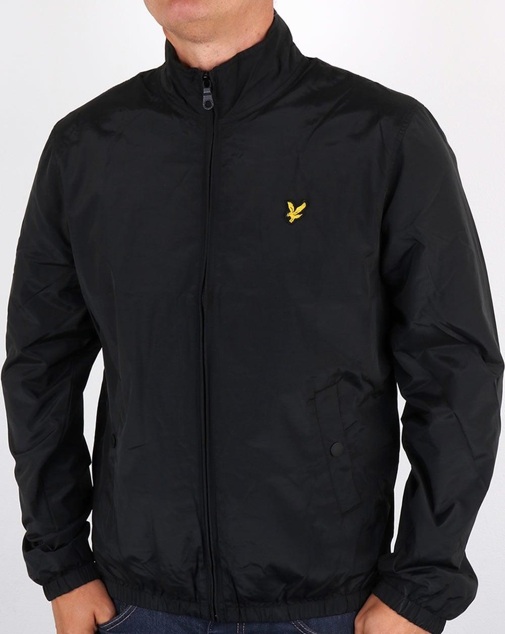 lyle and scott funnel neck jacket true black men 39 s top coat. Black Bedroom Furniture Sets. Home Design Ideas