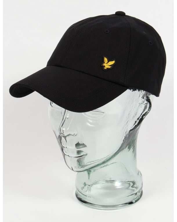 Lyle And Scott Golf Baseball Cap Black