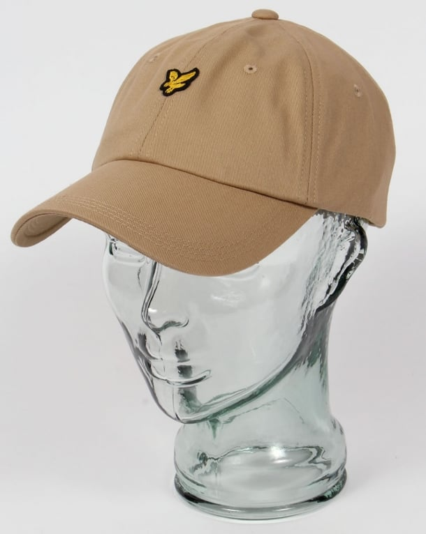 Lyle And Scott Golf Baseball Cap Dark Sand