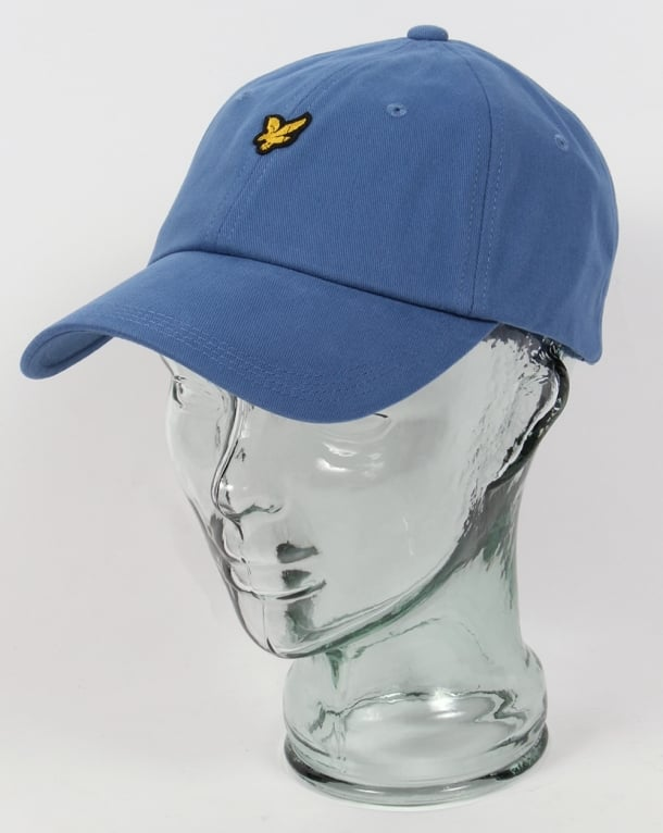 Lyle And Scott Golf Baseball Cap Dusty Blue