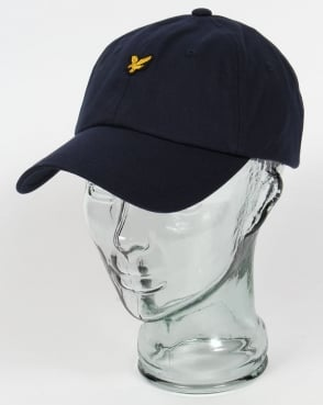 Lyle And Scott Golf Baseball Cap Navy