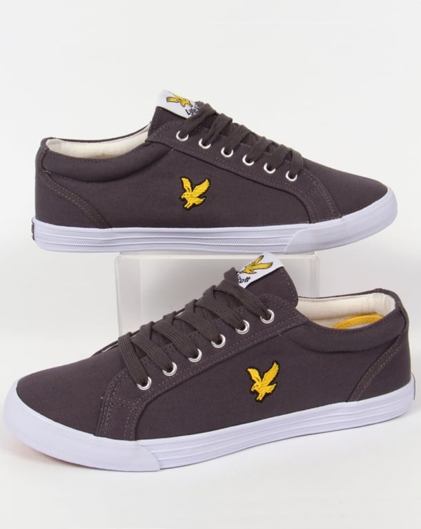 Lyle And Scott Halket Canvas Pump Grey