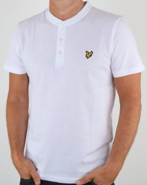 Lyle And Scott Henley T Shirt White