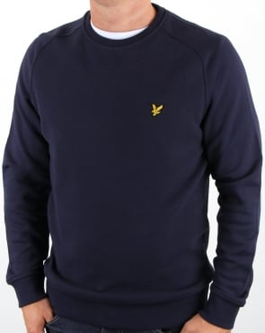 Lyle And Scott Honeycomb Sweatshirt Navy