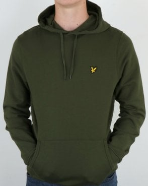 Lyle And Scott Hoodie Woodland Green