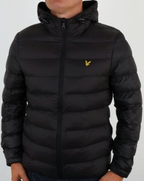 Lyle And Scott Lightweight Puffer Jacket Black