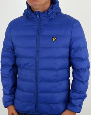 Lyle And Scott Lightweight Puffer Jacket Duke Blue