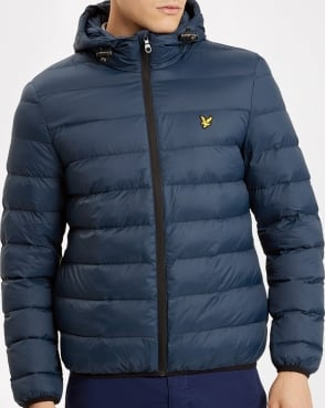 Lyle And Scott Lightweight Puffer Jacket Navy