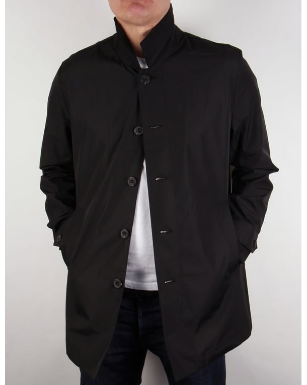 Lyle And Scott Lightweight Raincoat True Black
