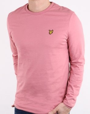 Lyle And Scott Long Sleeve T-shirt Pink