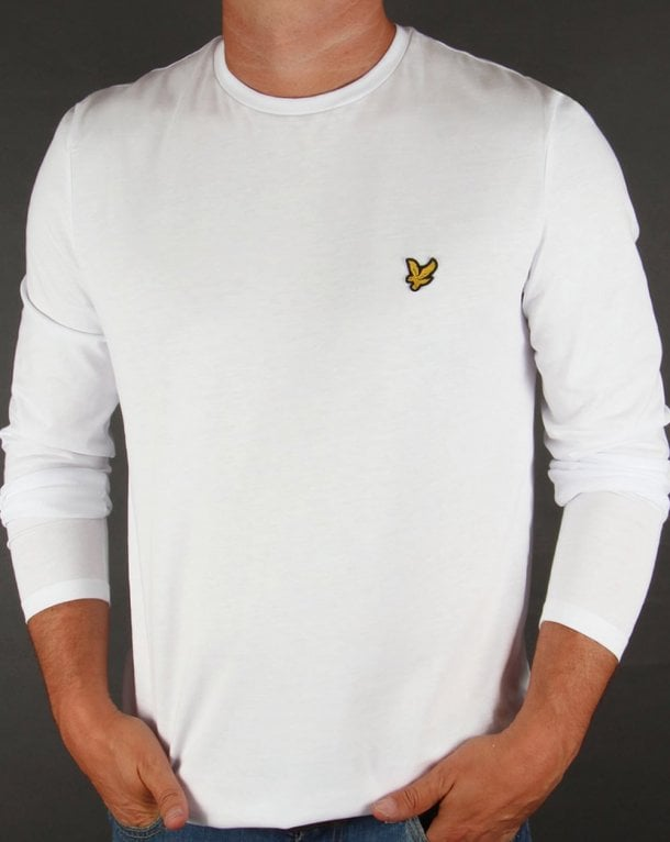 Lyle And Scott Long Sleeve T-shirt White