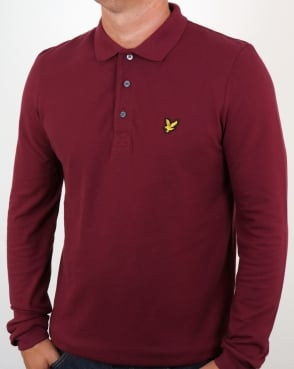 Lyle And Scott Ls Polo Shirt Claret Jug
