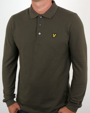 Lyle And Scott Ls Polo Shirt Olive