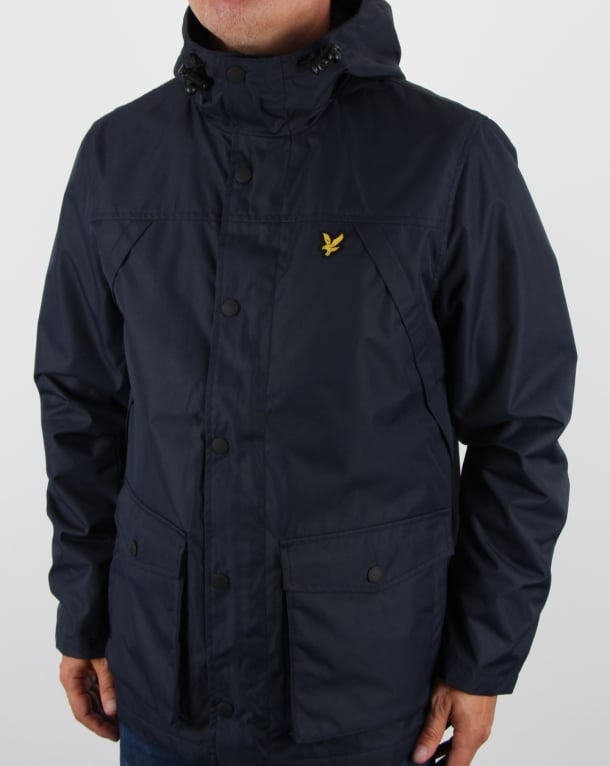 Lyle and Scott Micro Fleece Lined Jacket Navy