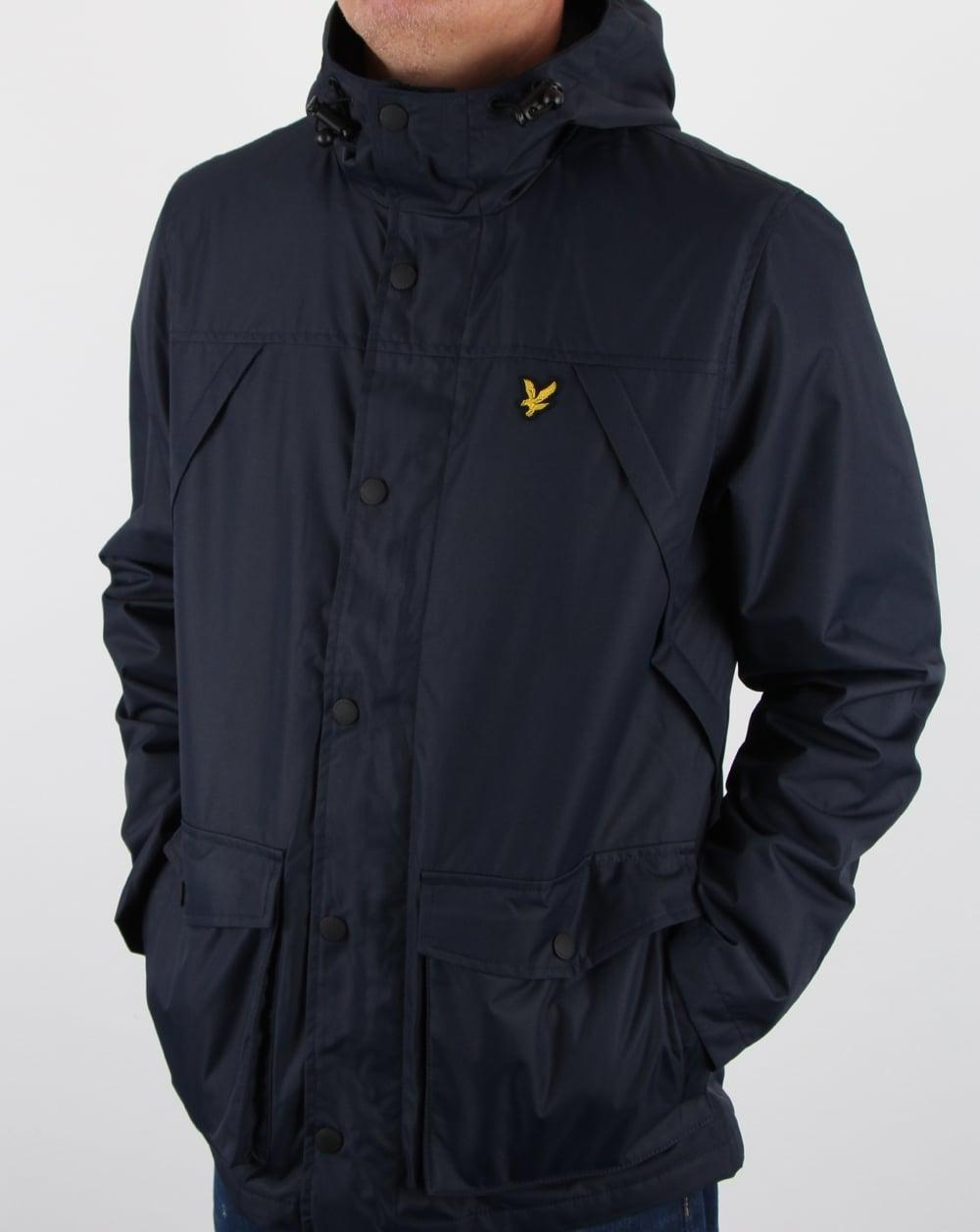 lyle and scott micro fleece lined jacket navy men 39 s coat. Black Bedroom Furniture Sets. Home Design Ideas