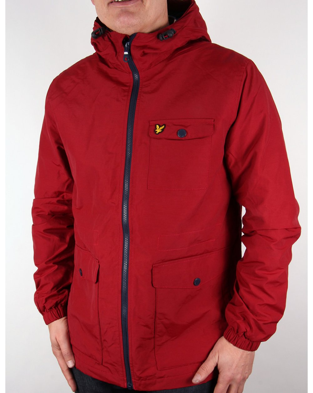 lyle and scott microfleece lined jacket ruby parka coat mens. Black Bedroom Furniture Sets. Home Design Ideas