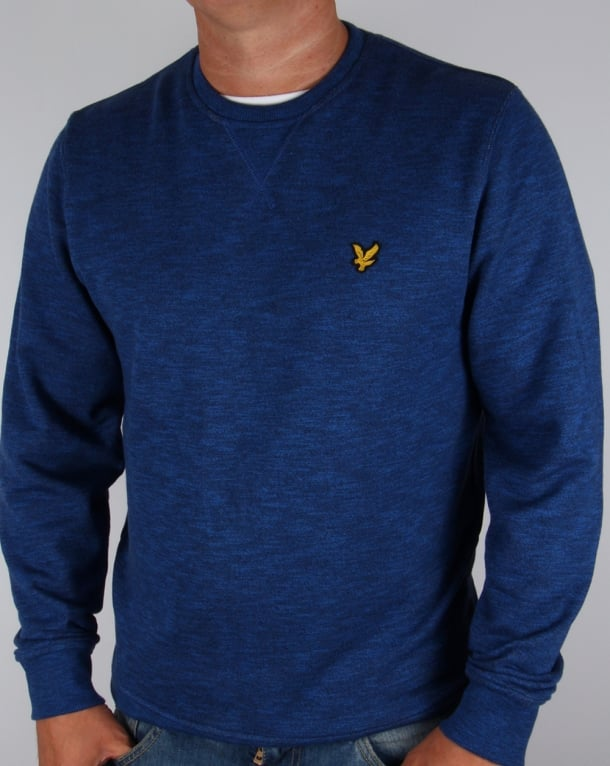Lyle And Scott Mouline Sweatshirt Navy