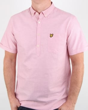 Lyle And Scott Overhead Oxford Shirt Pink