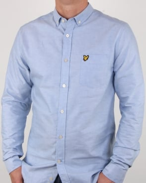 Lyle And Scott Oxford Shirt Riviera