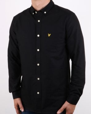 Lyle And Scott Oxford Shirt True Black