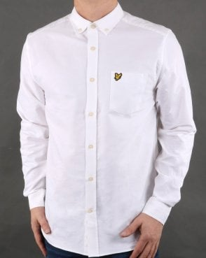 Lyle And Scott Oxford Shirt White