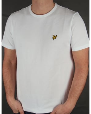 Lyle And Scott Pique T-shirt White