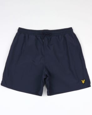 Lyle And Scott Plain Swim Shorts Navy