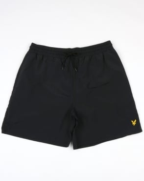 Lyle And Scott Plain Swim Shorts True Black