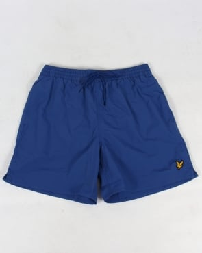 Lyle And Scott Plain Swim Shorts True Blue