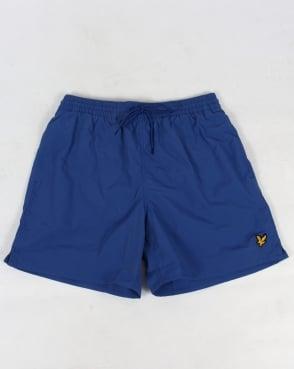 Lyle And Scott Plain Swim Shorts True Blue