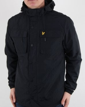 Lyle And Scott Pocket Jacket Dark Navy