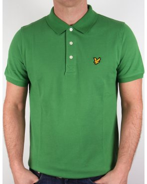 Lyle And Scott Polo Shirt Basil Green