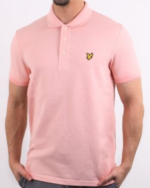 Lyle And Scott Polo Shirt Coral Way