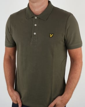 Lyle And Scott Polo Shirt Dusty Olive