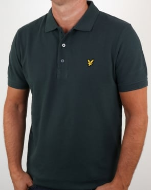 Lyle And Scott Polo Shirt Forest Green