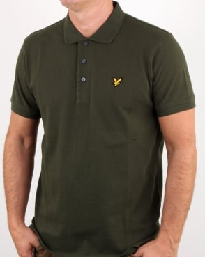 Lyle And Scott Polo Shirt Leaf Green