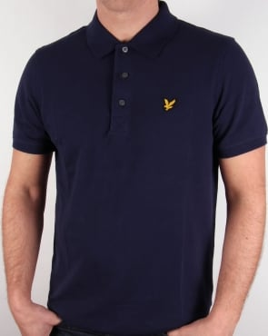 Lyle And Scott Polo Shirt Navy